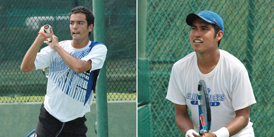 Photo by LWC: Fernando Bogajo (left) and Fabricio Morales earned national honors on Sunday.